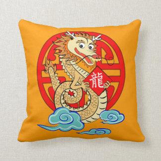 Año del dragón cojines