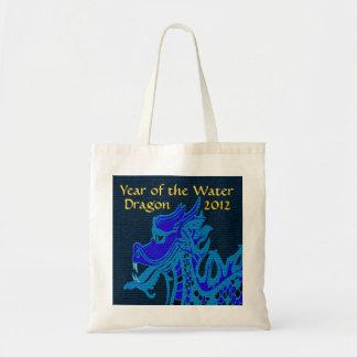 Año del dragón de agua bolsa de mano