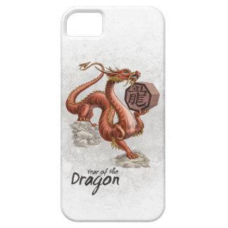 Año del dragón iPhone 5 Case-Mate protectores