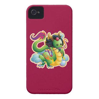 Año del dragón Case-Mate iPhone 4 funda