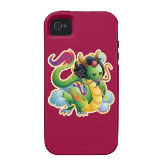 Año del dragón Case-Mate iPhone 4 fundas