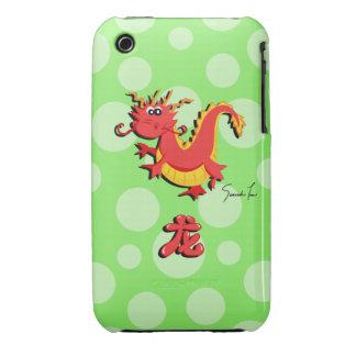 Año del dragón Case-Mate iPhone 3 funda
