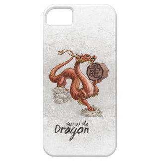 Año del dragón iPhone 5 funda