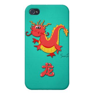 Año del dragón iPhone 4 protector