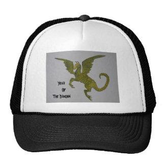 Año del dragón gorras
