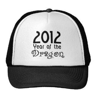 Año del dragón gorro de camionero