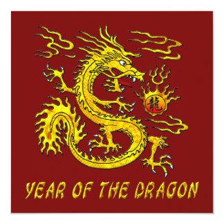Año del dragón anuncio personalizado