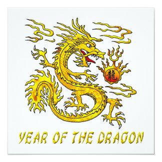 Año del dragón comunicados