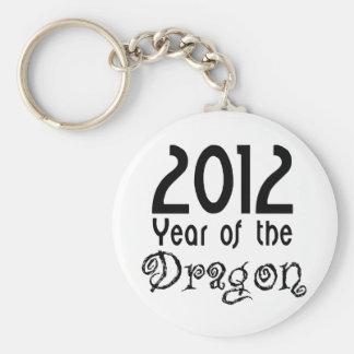 Año del dragón llaveros