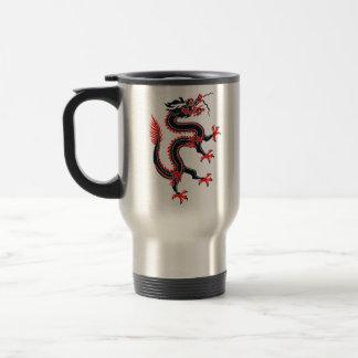 Año del dragón taza de café