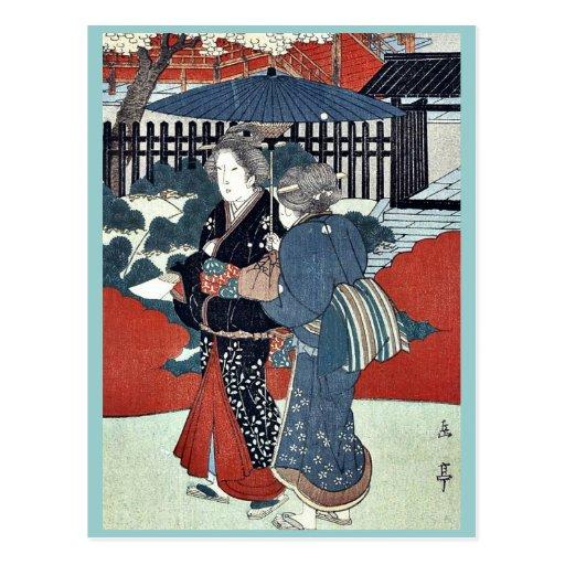 Año del dragón: Ueno Sanno por Yajima, Gogaku Tarjetas Postales