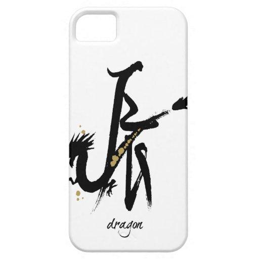 Año del dragón - zodiaco chino iPhone 5 carcasas