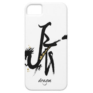 Año del dragón - zodiaco chino iPhone 5 Case-Mate cárcasa