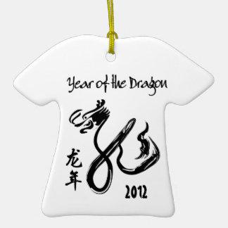 Año del ornamento chino del Año Nuevo del dragón 2 Adorno De Reyes