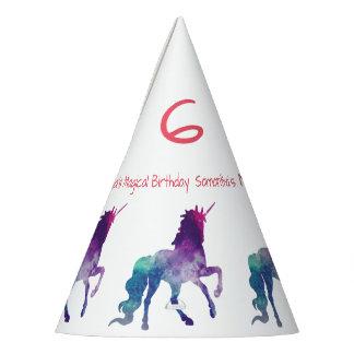 Año del unicornio - gorra del fiesta