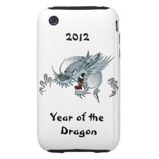 Año duro 3G/3GS de la casamata del dragón iPhone 3 Tough Coberturas