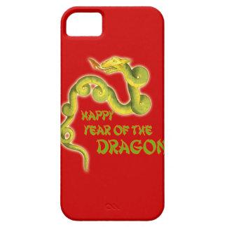 Año feliz de los regalos del dragón iPhone 5 Case-Mate coberturas
