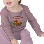Año nacido de la camiseta 2012 del bebé del dragón