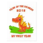 Año nacido del regalo 2012 del bebé del dragón