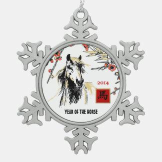 Año Nuevo 2014. Año chino de los ornamentos del ca Adornos