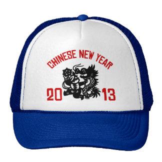 Año Nuevo chino 2013 Gorras De Camionero