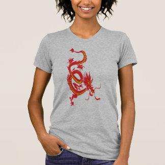 Año Nuevo chino del dragón rojo Camiseta