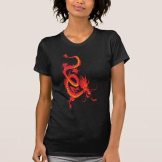 Año Nuevo chino del dragón rojo Camisetas