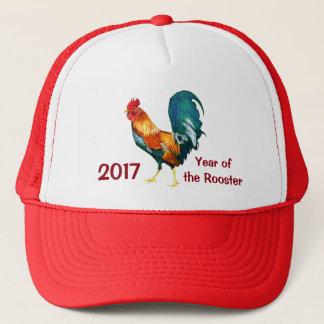 Año Nuevo chino del gorra 2017 del gallo