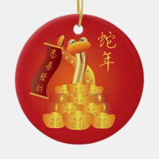 Año Nuevo chino del ornamento de la serpiente Adorno De Navidad