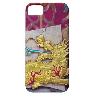 Año Nuevo chino, dragón de oro iPhone 5 Protector