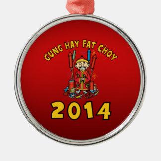 Año Nuevo chino feliz 2014 Ornamente De Reyes