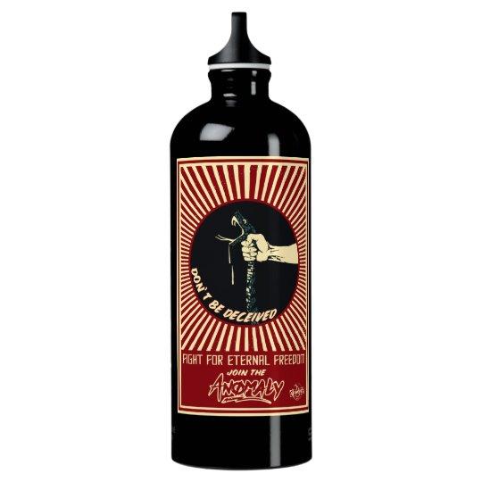 """""""Anomalía"""" de la fuente botella de agua de 1 litro"""