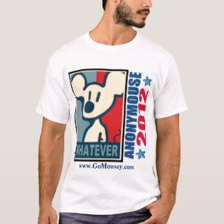 Anonymouse 2012 - Si está nombrado Camiseta