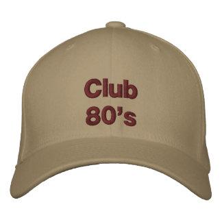 Años 80 del club gorras bordadas