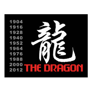 Años del dragón postal