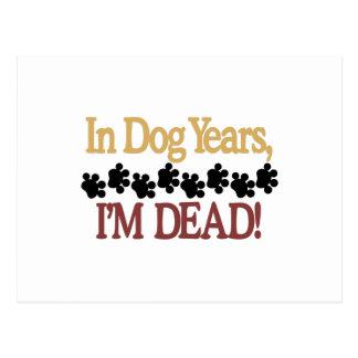 Años del perro postal