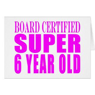 Años estupendos certificados tablero de los cumple tarjeta de felicitación
