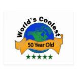 Años más frescos del mundo los 50 postales