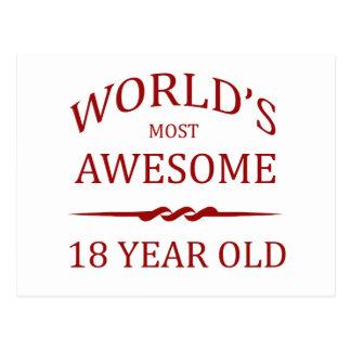 Años más impresionantes del mundo los 18 postales