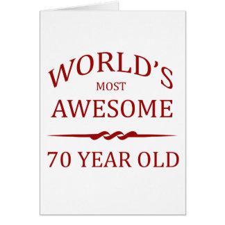 Años más impresionantes del mundo los 70 felicitacion