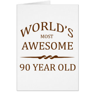 Años más impresionantes del mundo los 90 tarjetas