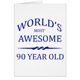 Años más impresionantes del mundo los 90 tarjetón