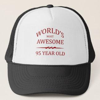 Años más impresionantes del mundo los 95. gorra de camionero