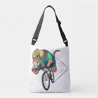 Anteater brasileño del árbol que monta un dibujo bolso cruzado