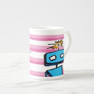 Antes de té nada cálculos taza de porcelana