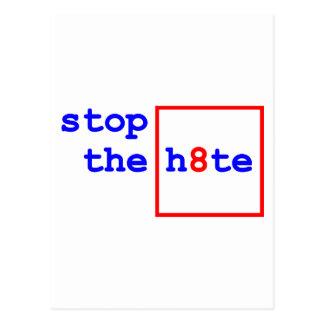 Anti-Asunto 8: pare el h8te Postal