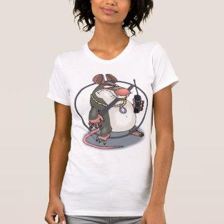 Anti-Espía el tanque de la bola de la cesta de Camiseta