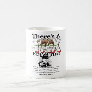 Anti-Impuesto (California) Taza De Café