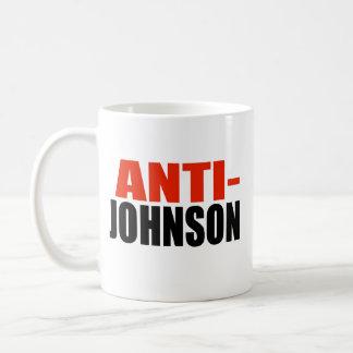 ANTI-JOHNSON TAZAS DE CAFÉ