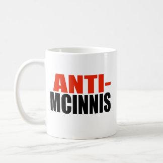 ANTI-MCINNIS TAZA DE CAFÉ